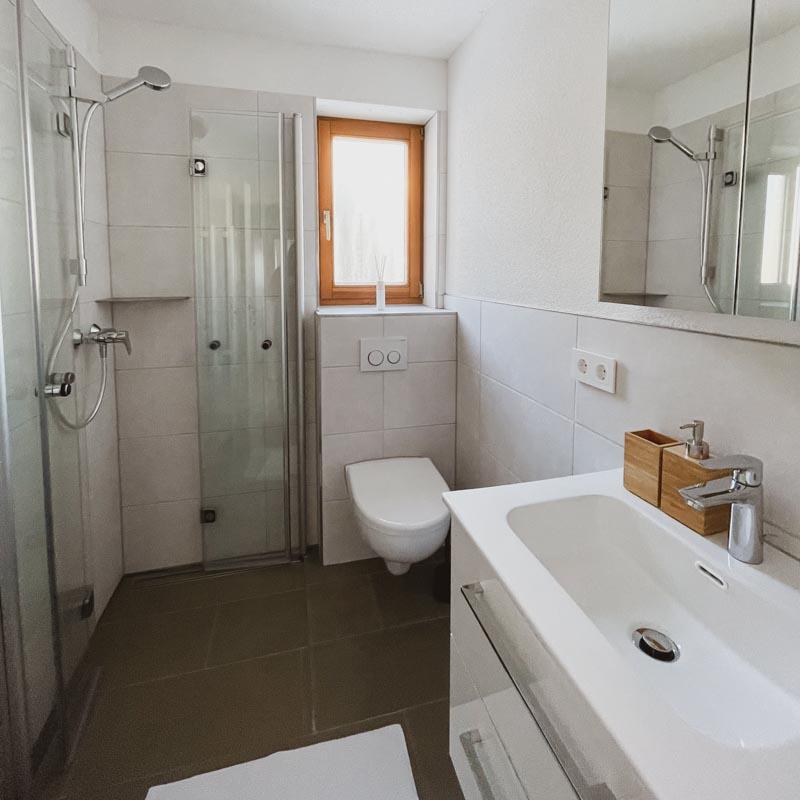 Ferienwohnung Todtnauberg Badezimmer Haus Malea
