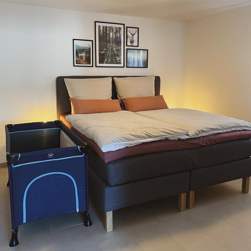 Ferienwohnung Todtnauberg Schlafzimmer Haus Malea