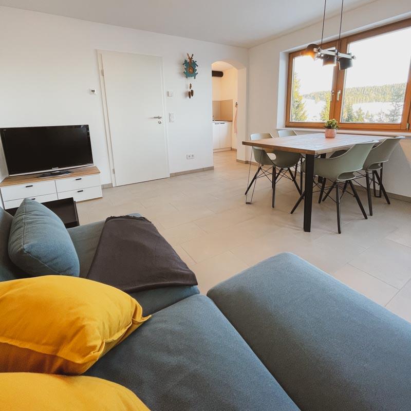 Ferienwohnung Todtnauberg Wohn- Esszimmer Haus Malea